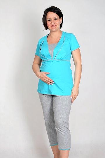 Kismama és szoptatós pizsama