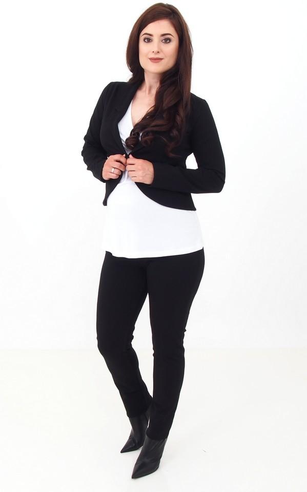 Trendi zakó fekete